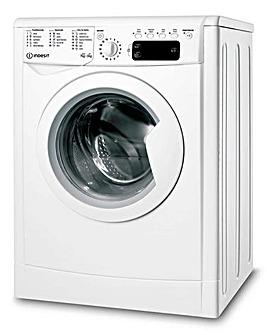 INDESIT IWDD75145UKN 7+5KG 1400 Spin Ecotime Washer-Dryer WHITE + INSTALLATION
