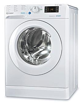 INDESIT BDE 961483X W UK N 9+6KG 1400 Spin Washer-Dryer WHITE