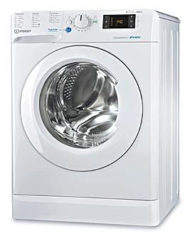 INDESIT BDE 1071682X W UK N 10+7KG 1600 Spin Washer-Dryer WHITE