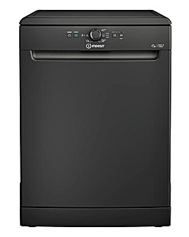 Indesit DFE 1B19 B UK 13 Place Set Dishwasher Black