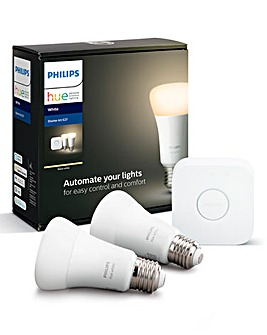 Philips Hue White E27 Starter Kit