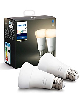 Philips Hue White E27 - 2 Pack