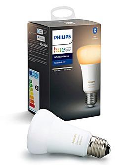 Philips Hue BT White Ambience E27 Single Bulb