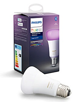 Philips Hue White & Colour E27 Bulb