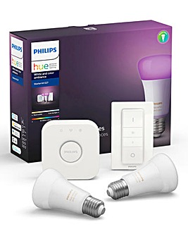 Philips Hue White & Colour E27 Set