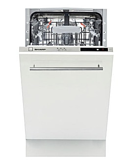 SHARP Integrated Full Size Dishwasher
