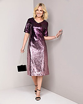 Julipa Ombre Sequin Dress