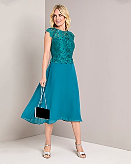 Julipa Lace Overlay Dress
