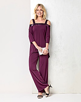 Julipa Jersey Top and Trouser Set