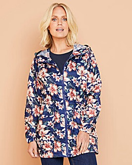 Julipa Navy Floral Pac A Mac