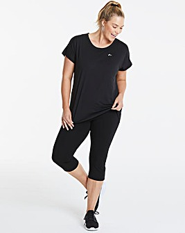 Only Play Fold Waist Capri Legging