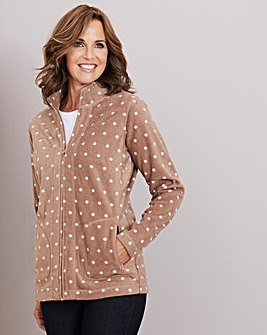 Julipa Spot Printed Fleece