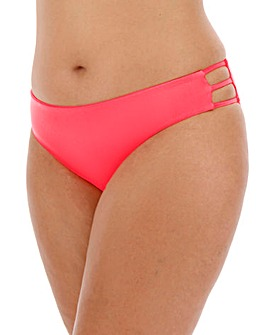 Strappy Neon Hipster Bikini Brief