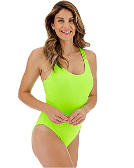 Strappy Neon Swimsuit