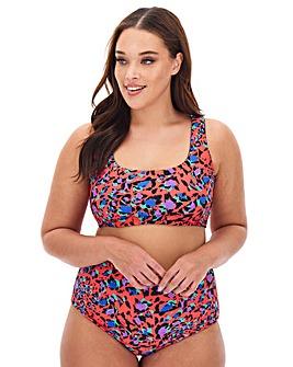 Reversible Bikini Crop Top