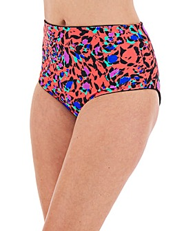 Reversible High Waist Bikini Brief