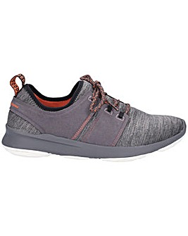 Hush Puppies Geo Lace Up Trainer