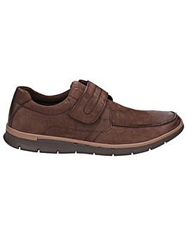 Hush Puppies Duke Touch Fastening Shoe