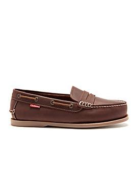 Chatham Cuba Slip-On Boat Shoes