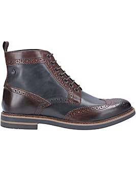 Banner Burnished Brogue Boot
