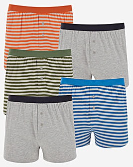 5 Pack Loose Boxers