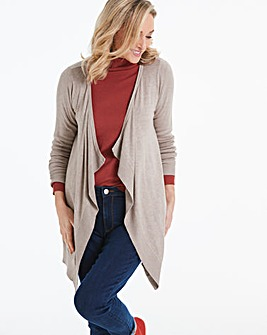 Oatmeal Waterfall Cardigan