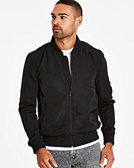 Jacamo Black MA1 Bomber Long