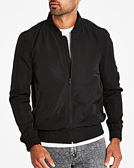 Black MA1 Bomber Long
