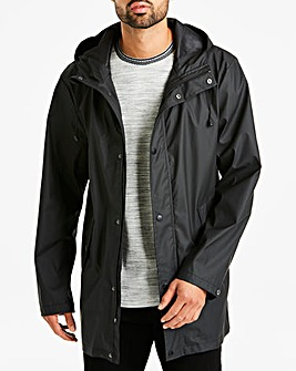 Black Waterproof Coat