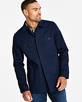 Navy Four Pocket Shacket R