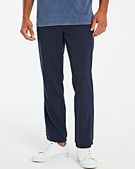 Jacamo Navy Smart Jogger 33in