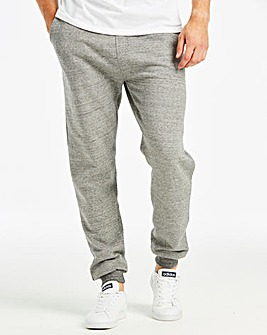 Jacamo Grey Tapered Fit Joggers Regular