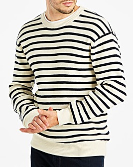 Jacamo Stripe Jumper Long