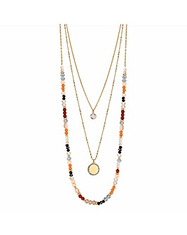 Mood Beaded Pendant Necklace