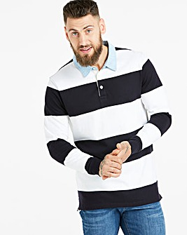 Rugby Style Sweatshirt Long