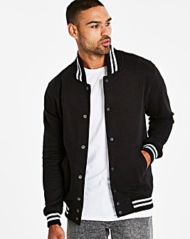 Jacamo Black Collegiate Bomber Regular