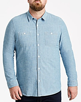 Chambray Long Sleeve Shirt Regular