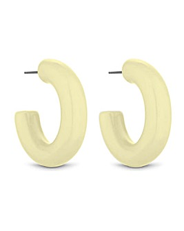 Mood Block Colour Hoop Earring