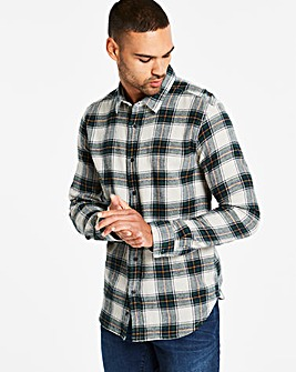 Jacamo Flannel Check L/S Shirt R