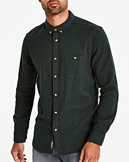 Green Flannel L/S Shirt
