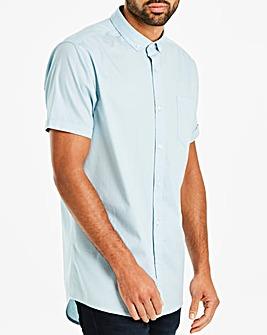Blue Longline S/S Shirt