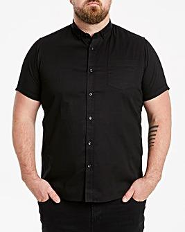 Jacamo Black Longline S/S Shirt