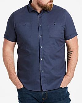 Navy Military S/S Shirt