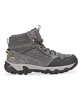 Snowdonia Waterproof Knitted Walking Boots Extra Wide Fit