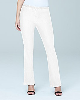 Pull-On Bootcut Jeggings Regular Length