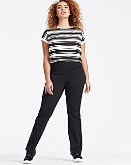 Pull-On Bootcut Jeggings