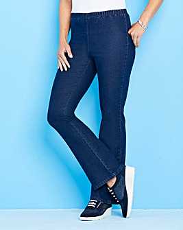 a6d1a1f66c3e9 Petite Bootcut Pull-On Jeggings