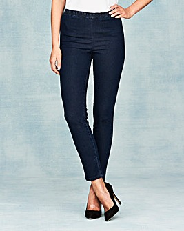Slim Leg Jeggings Short