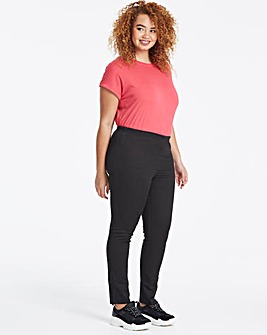 Pull-On Slim Leg Jeggings Long