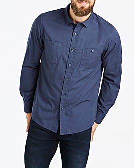 Jacamo Navy Military L/S Shirt Long